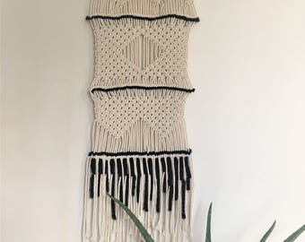 Wall Hanging, Macrame wall