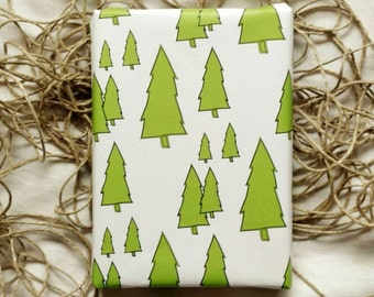 Christmas Wrapping Paper, Christmas Gift Wrap, Wrapping Paper Sheets, Roll Gift Wrap, Holiday Scrapbooking, Trees Wrapping Paper, Wrapping