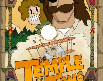 """Issue 2: """"The Temple of Tang"""" DIGITAL"""