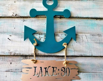 Lake House Sign, Lake House Decor, Lake House Door Hanger, Lake House, Lake House Sign Custom, Lake House Housewarming Gift, Outdoor Sign