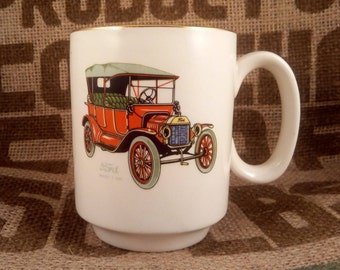 Ford Model T 1914 Mustache Cup by Lord Nelson Pottery