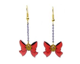 Earrings: Sailor Knot