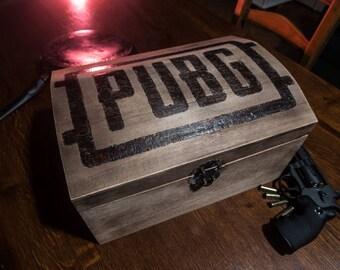 Abandoned PUBG / / PUBG wooden chest / / PlayerUnknown's Battlegrounds