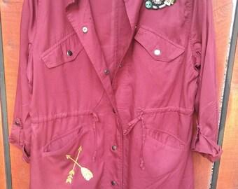 Ladies Southwest Style jacket with embellishments.