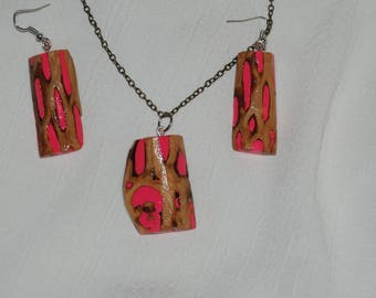 Pink Cholla Cactus Jewelry