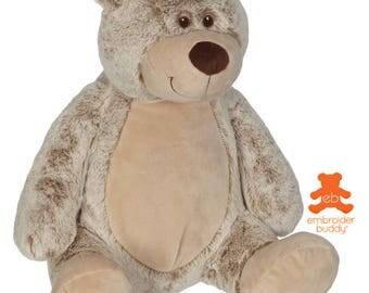 Personalised Plush Animal – Benjamin Bear