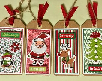 Santa & Friends Christmas Gift Tags