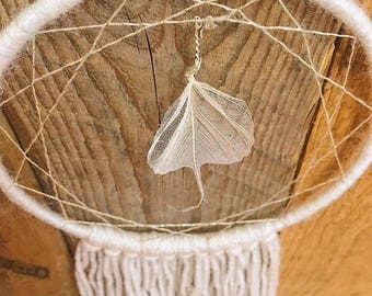 White Leaf Dreamcatcher