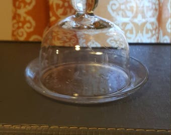 Glass Dome Cloche.
