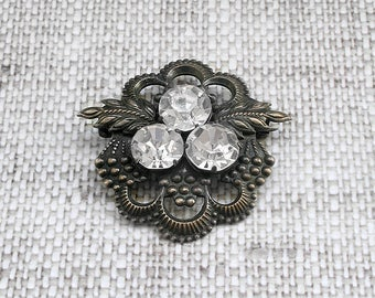 Vintage silver brooch Vintage jewellery Edwardian Brooch Vintage brooch Victorian brooch Flower brooch Edwardian jewellery Antique brooches