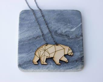 Cynci | Bear Necklace