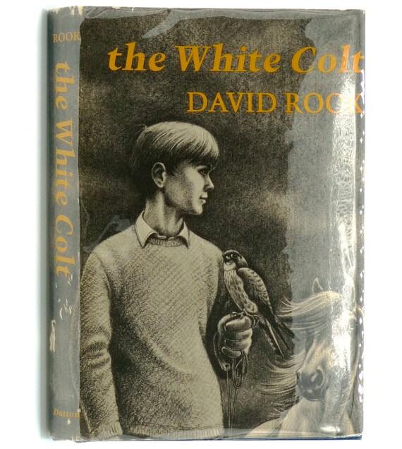 The White Colt 1968 by David Rook - Hardcover HC w/ Dust Jacket DJ - Dutton - Juvenile YA Fiction Novel