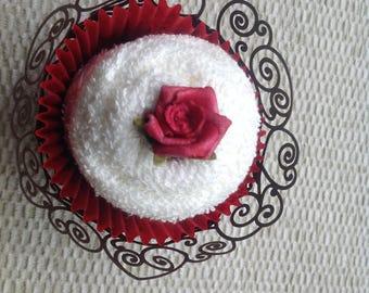 Cupcake - face cloth