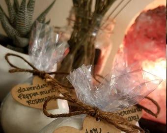 Large Lavender Peppermint Rosemary Bath Bomb - 4.5 oz