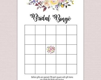 Bridal bingo etsy pronofoot35fo Images