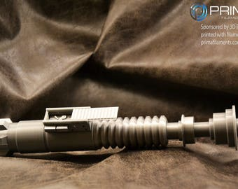 3d printed Luke Skywalker ROTJ inspired lightsaber kit. Upgraded version 3.0