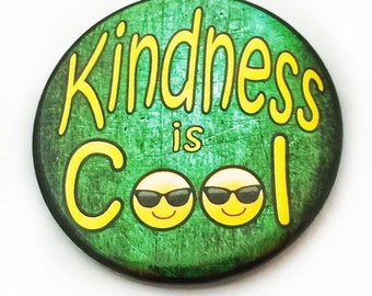 Kindness is Cool Pinback Button