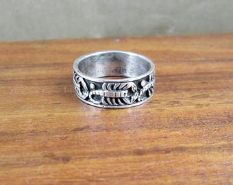 925 Sterling Silver Scorpion Ring - Size 9 - Vintage