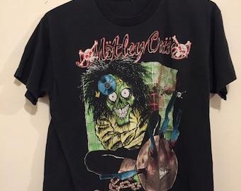 Vintage 1989 Motley Crue Dr. Feel Good Concert Shirt