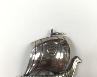 F.T. Denmark Sterling Silver Pin