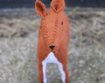 Felt Female Deer