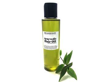 Ayurvedic Hair Oil - Amla Oil - Brahmi Oil - Herbal Hair Oil - Indian Hair Growth Oil - Black Haircare - Ayurveda Hair - Avocado Oil