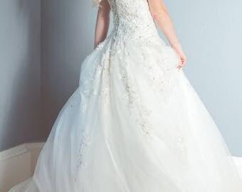 Corset wedding dress   Etsy