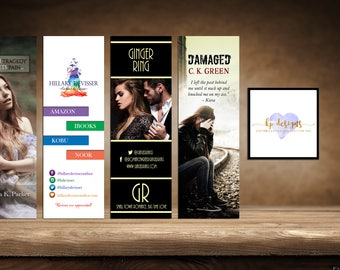 Customized Bookmarks ~ QTY: 50