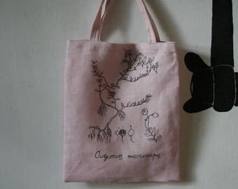 Sweet Moss Berry (Cranberry) Linene Bag
