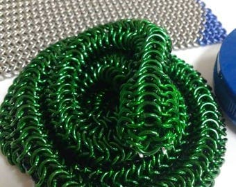 Chainmaille Snake
