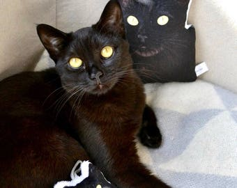 Custom Pet Pillow - Pet Portrait Plush Pillow - Small Animal Pillow Pet - Mini Cat & Custom pet pillow   Etsy pillowsntoast.com