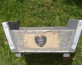 Shabby Chic Kitchen Herb Planter made from recycled scaffold boards - Ideal Mothers Day Gift