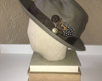 GOORIN BROS Linen Hat Made in USA - perfect for fathers day!