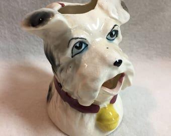Terrier Dog Creamer/Small Pitcher (#040)