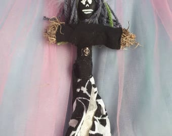 Voodoo Doll Authentic New Handmade New Orleans Vodou Abundance Poppet Vodou Original Peace Security