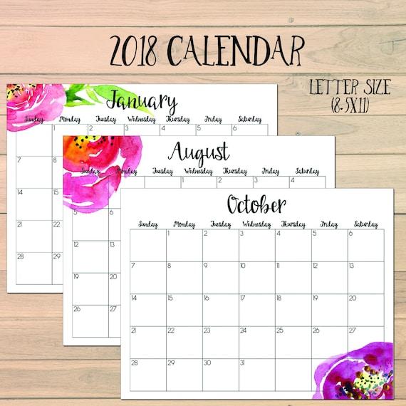Diy Calendar Australia : Monthly calendar printable