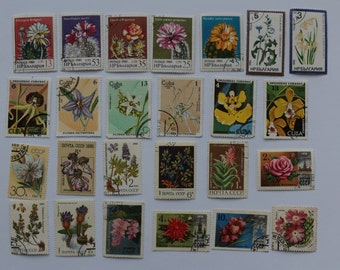 Set of 25 pcs Postal, Postage Stamp, Collecting, Philately # 10