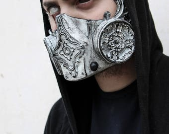 THE KEEPER (Resin Half-Face Gas Mask)