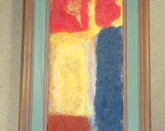 Rothko impression in felt