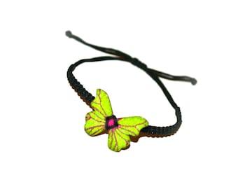 SALE!!! Butterfly Macrame Handmade Bracelet - FREE SHIPPING