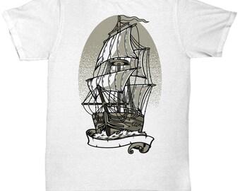Ship Outer The Ocean T-shirt