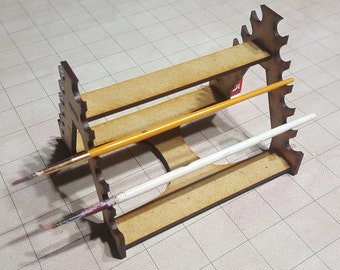 Paint Brush Rack