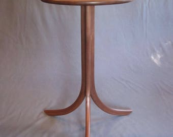 Wood Furniture. Hand Crafted Solid Walnut Occasional Table for Every Room and Every Day Use.