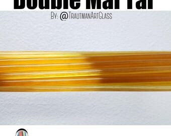 Double Mai Tai 1st Quality Rod by Trautman Art Glass