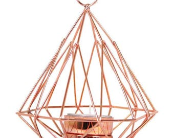 Geometric Pyramid Tealight Holder