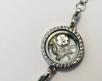 Under the Sea Charms - Floating Locket