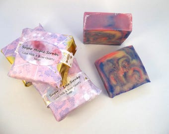 Floral Soap, Goats Milk, Colorful Soap, Soap Gift, Handcrafted Soap, Artisan Soap, Moisturizing, Wedding Favors, Bridal Shower Favors