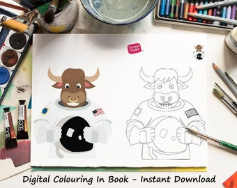 10 Coloring Sheets of American Animals - Coloring Pages Kids - Coloring Sheet - Colouring PDF - Coloring Pages - Kids Colouring Pages