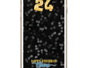 Birthday Geofilter, Birthday Geotag, Birthday Filter, Personalized On Demand Geofilter, Custom Snapchat Filter