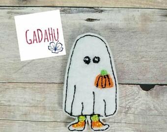 Cute Ghost Pumpkin feltie. Embroidery Design 4x4 hoop Instant Download. Felties. Halloween feltie. Sneakers